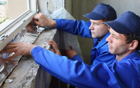 Artisans isolant des fenêtres