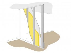 isolation phonique d 39 une cloison toutes les infos sur l. Black Bedroom Furniture Sets. Home Design Ideas