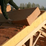 Artisan isolant toit fibre bois