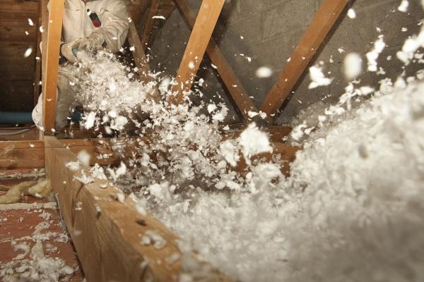 La ouate de cellulose est une excellente solution pour l'isolation par soufflage