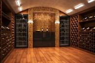 Cave vins maison.
