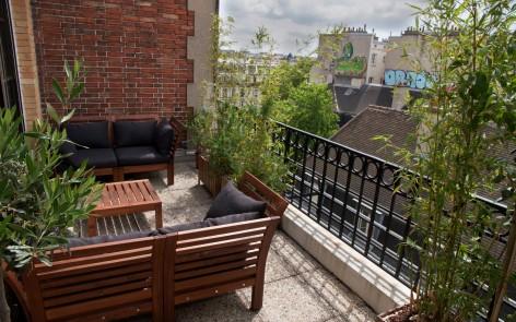 L'isolation toit terrasse.