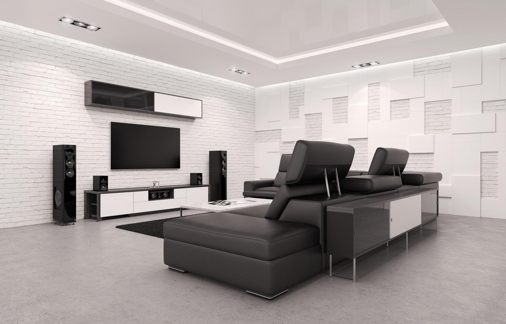 salle de home cinéma