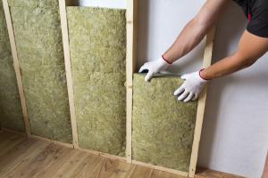 Epaisseur de laine de verre pour un mur