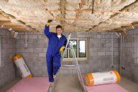 Isolation plafond de sous-sol