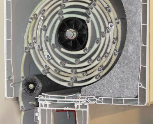Réussir l'isolation d'un coffre de volet roulant