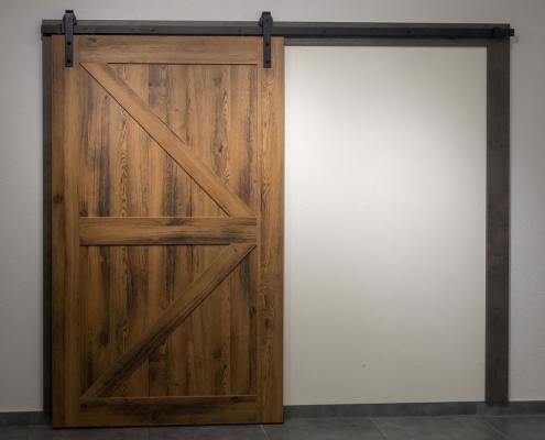 Porte coulissante isolante