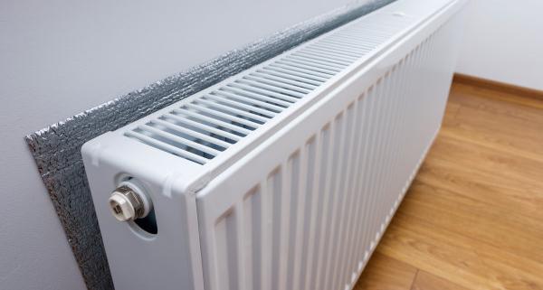Intérêt de pose d'un isolant derrière un radiateur