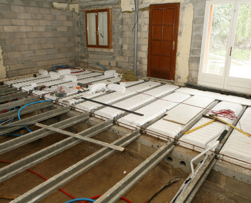 Isolation thermique des sols : qu'en est-il du plancher à hourdis ?