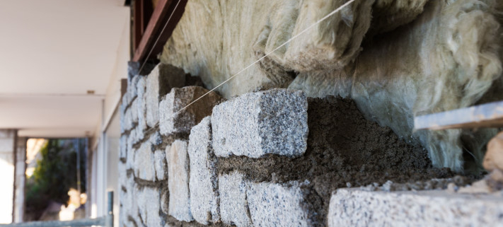 Techniques d'isolation d'un mur en pierre